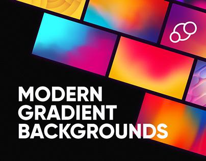 Modern Gradient Backgrounds