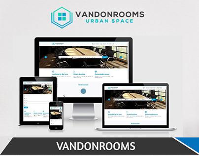 """VANDONROOM"" WEB DESIGN | UI/UX DESIGN | WEBSITE DESIGN"