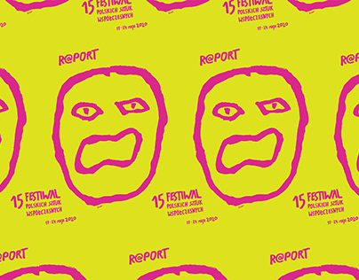 R@PORT - Festival poster