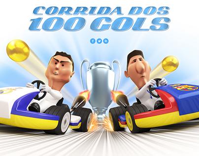 Corrida dos 100 gols