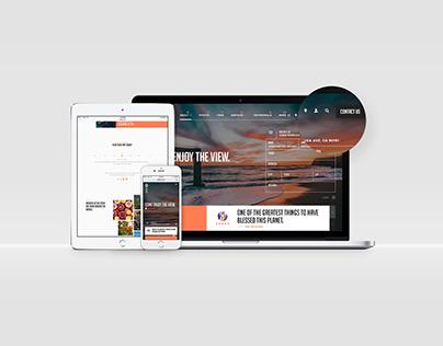Jet Set - Web Concept