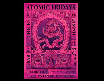 Atomic Fridays – December 2018