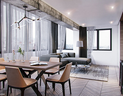 Apartment Design In Vienna