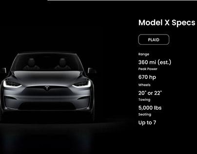 Redesign Tesla