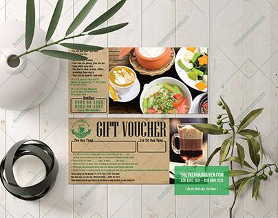 Kraft gift voucher - kraft thẻ quà tặng.
