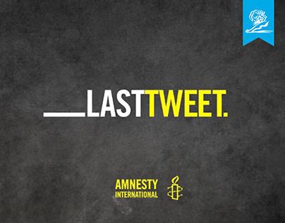 Amnesty International / Last Tweet