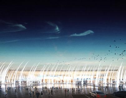 Airport Rostov Concept Visualization