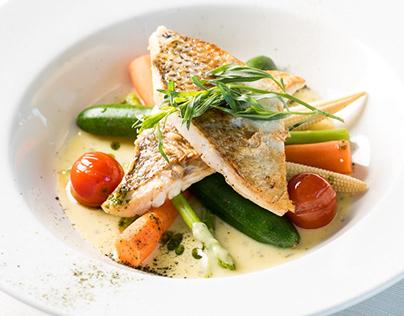Regatta restaurant food photography