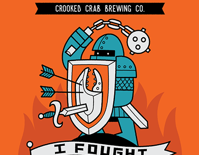 Crooked Crab Beer Cans