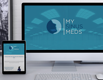 MYSINUS MEDS ONE PAGE RESPONSIVE WEBSITE