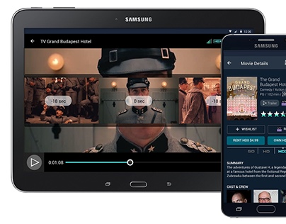 VUDU. Android Mobile Redesign
