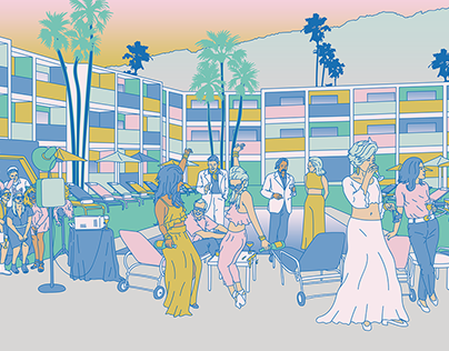Heartbreak Hotel - Web and Social Graphics