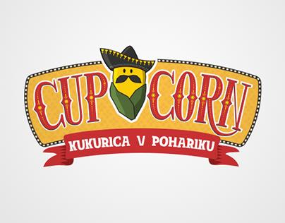 """""""CupCorn"""" Logo & Cart Decor"""