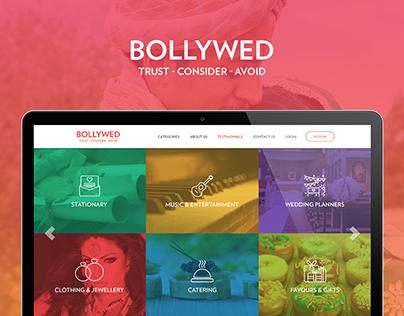 Bollyweb Website Concept