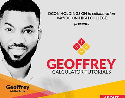 Geoffrey Calculator Tutorials