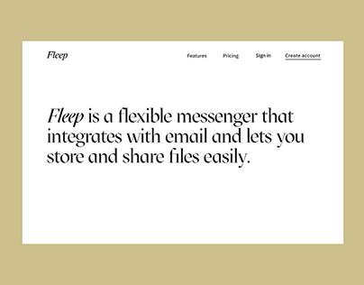 Fleep Website
