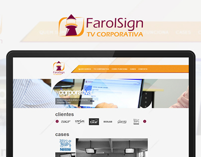 Farol Sign | Website