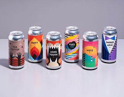 Fuerst Wiacek Brewery - Label design