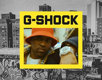 G-SHOCK | E-Commerce redesign concept