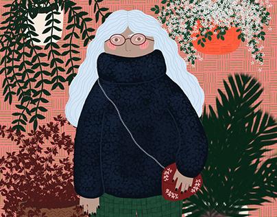 Cozy sweater - Digital Illustration