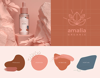 Amalia - Brand Identity, packaging, Web design