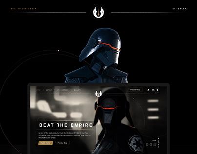 Star Wars: Jedi Fallen Order UI Concept
