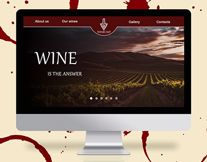 WINECMP: Winery Web Page