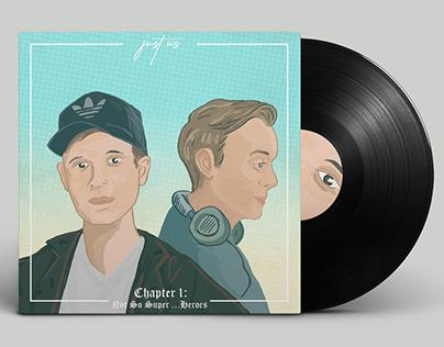 Just Us EP Illustration