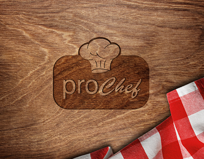 PRO CHEF COOKING PRODUCTS LOGO AND PACKAGE DESIGN