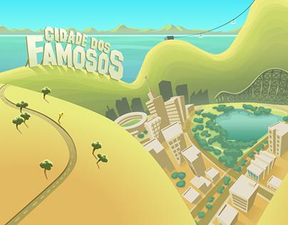 Cidade dos Famosos Facebook Game
