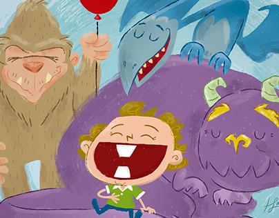 Martin não tem medo de monstros