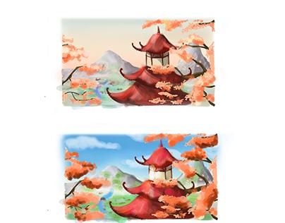 pagodes