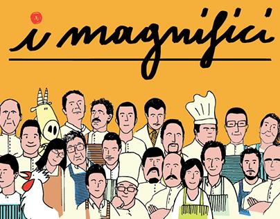 """Mercato Centrale Firenze - """"I Magnifici"""" video promo"""