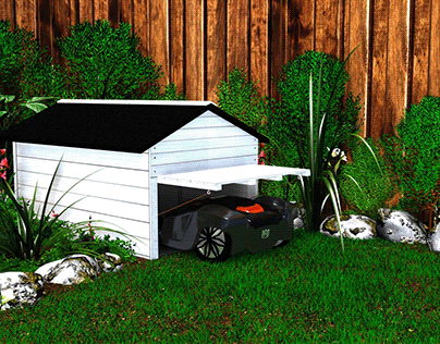 3D Mower Garage Promo