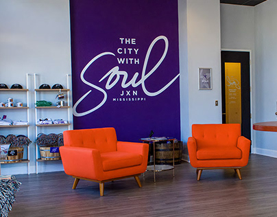 City With Soul Store & Merchandise Design
