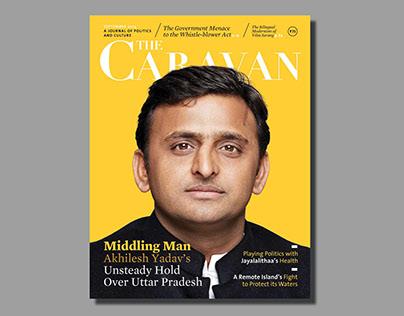 Redesigning The Caravan Magazine