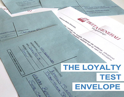The Loyalty Test Envelope