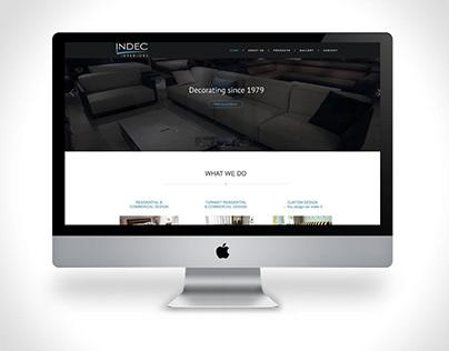 INDEC - Interior decorating/design website