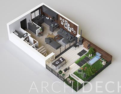 Soffia Development 3D Floor Plans