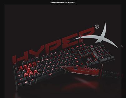 Advertisement For HyperX x CSGO