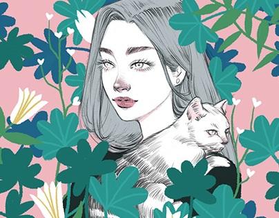 Cat&Plants