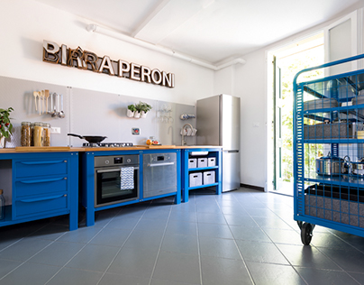 Very Simple Kitchen [Blue]