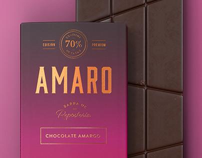Amaro. Chocolates