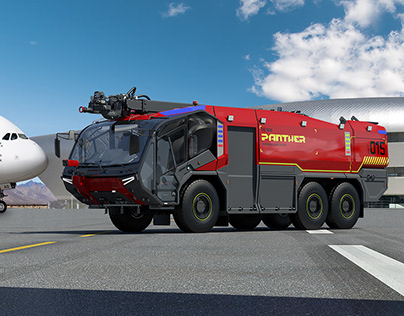 Panther Fire Truck