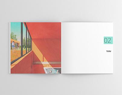 Architectural Portfolio for Motion Center in Budapest