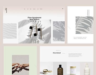 Website concept #1