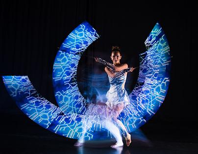 LED+Laser photo shoot / PhoenixCreative