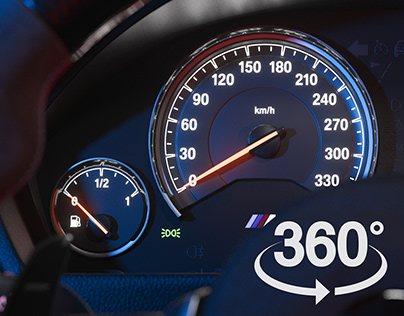 BMW M4 - Cgi Interiors - 360°
