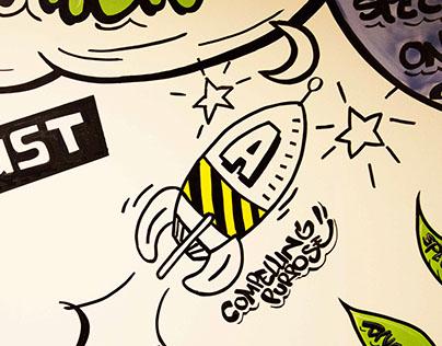 Accenture HR | Doodle Painting
