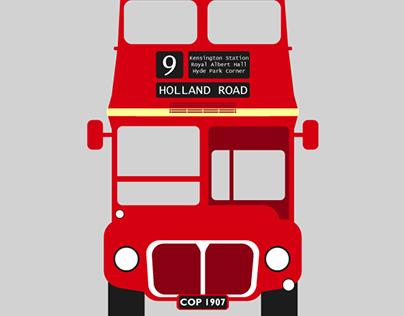 London Bus - Vector